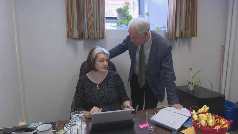 Hannah Bell et Peter Bevan-Baker se préparent déjà en vue des prochaines élections provinciales de 2019.