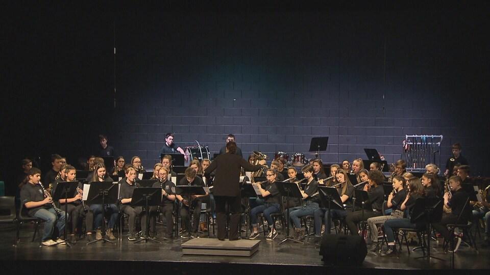 Le spectacle Harmonie pour tous le 17 février 2019 à Dieppe, au Nouveau-Brunswick.