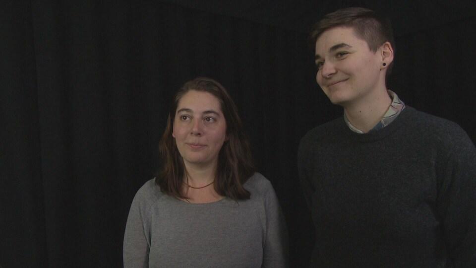 Julie Frigault et Dominique Léger, réalisatrices du film