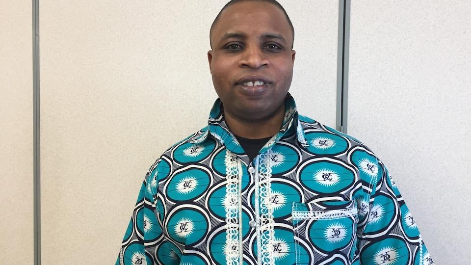 Mike Baganda, président de l'Association des Congolais du Congo Kinshasa du Nouveau-Brunswick