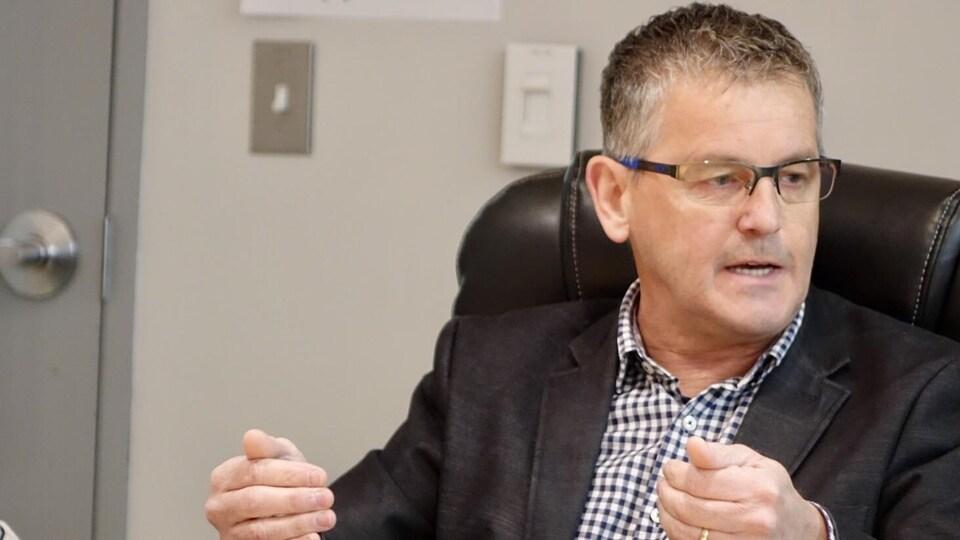 Gaston Bérubé, victime d'un infarctus en janvier dernier, a dû être transféré d'urgence à Québec pour subir un traitement d'hémodynamie.