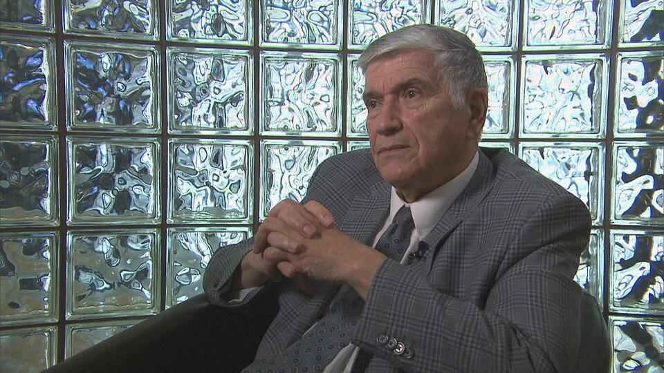 Henri Lafrance, président de l'Association des grands-parents du Québec