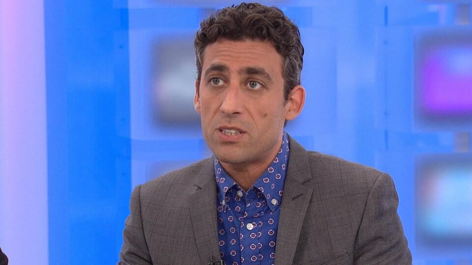 Le criminaliste Walid Hijazi en entrevue à l'émission 24|60