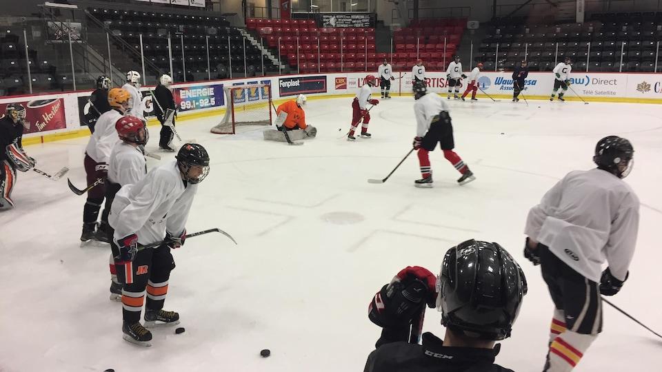 Joueurs de hockey