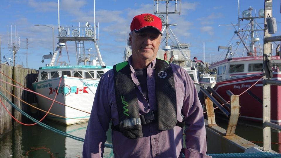 Bernie Berry sur le quai