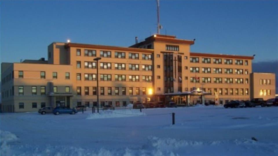Centre hospilatier de La Sarre, en Abitibi-Ouest.