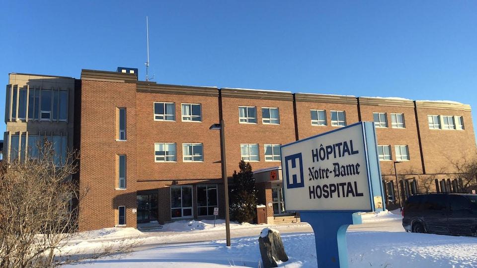 L'Hôpital Notre-Dame de Hearst