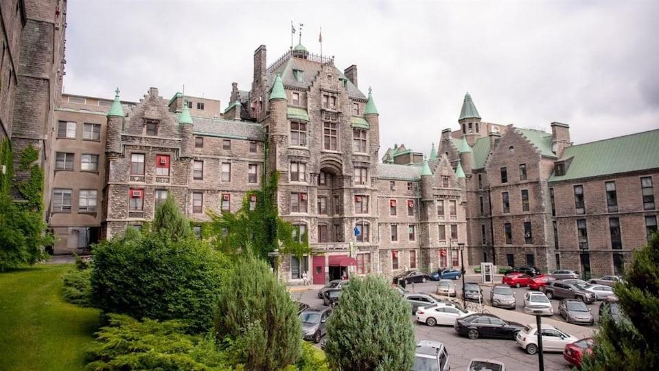 L'ancien Hôpital Royal Victoria, à Montréal.