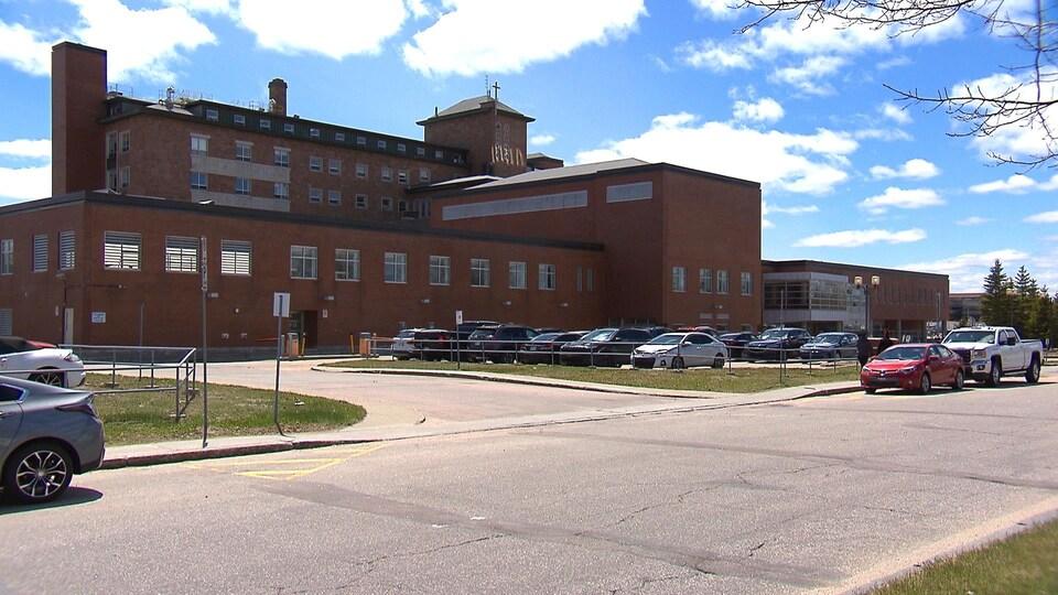 L'hôpital Le Royer à Baie-Comeau