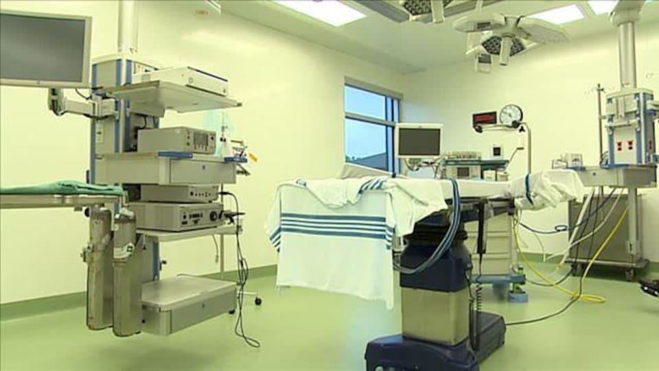 Une salle de chirurgie de l'Hôpital Sainte-Anne.
