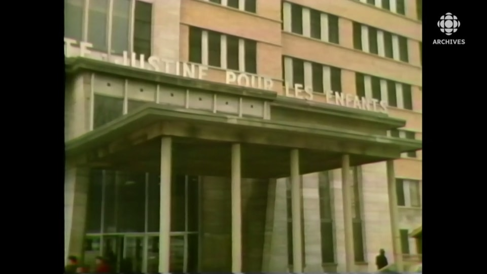 Façade de l'Hôpital Sainte-Justine.