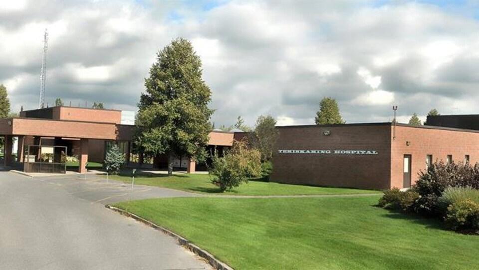 L'Hôpital Temiskaming, dans le Nord-Est de l'Ontario.