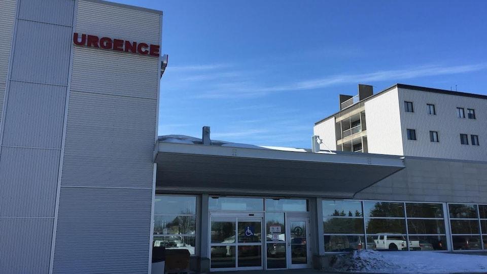 Urgence de l'hôpital de Val-d'Or