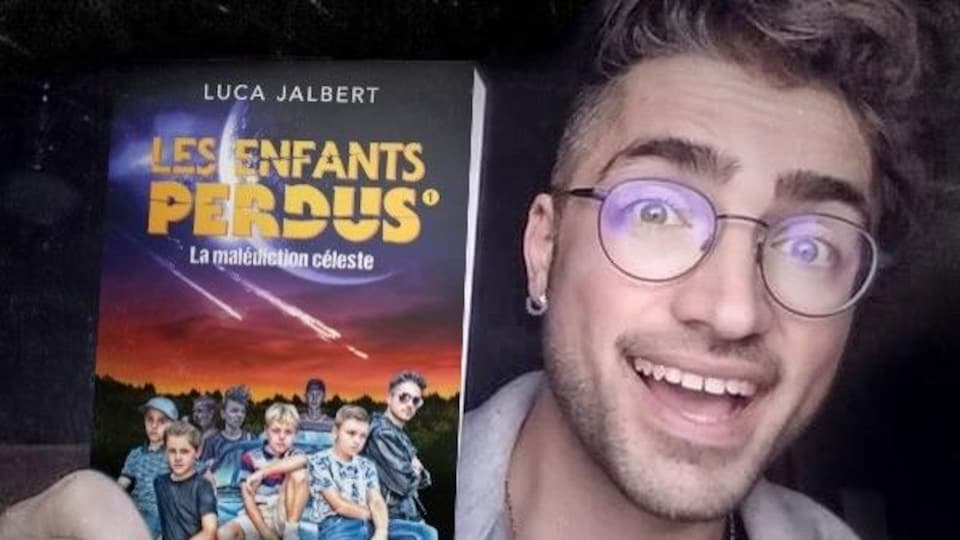 Luca Jalbert vient de lancer le premier tome de sa série Les enfants perdus, aux éditions Héritage, dans la célèbre collection Frissons.