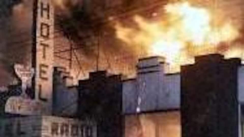 Incendie de l'hôtel Radio, 1969