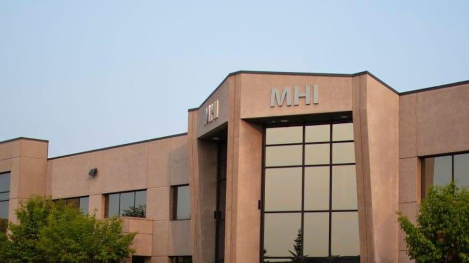 Vue du bâtiment de Manitoba Hydro International.