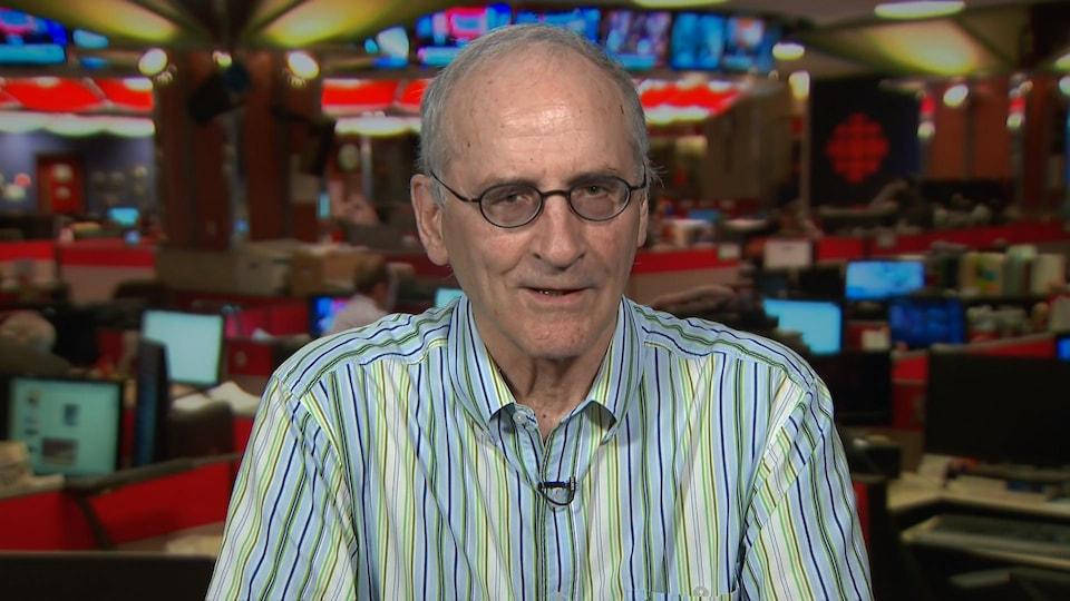 Jean-Thomas Bernard, professeur au département de Sciences économiques à l'Université d'Ottawa.