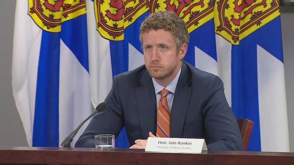 Le premier ministre de la Nouvelle-Écosse Iain Rankin.