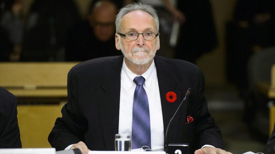 Ian Scott, président du Conseil de la radiodiffusion et des télécommunications canadiennes (CRTC).