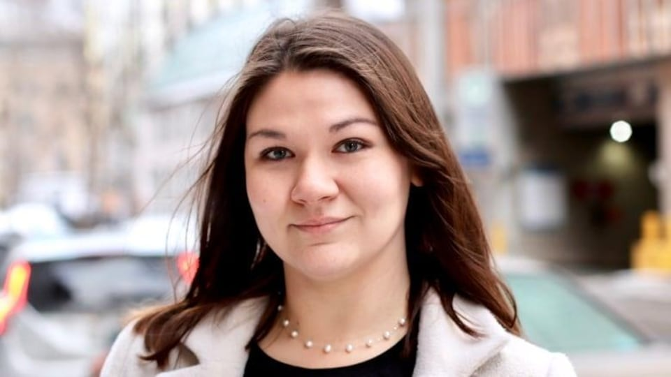 Le visage de Breanne Lavallee-Heckert.