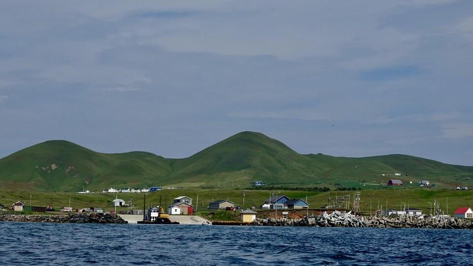 Un paysage de l'île d'Entrée