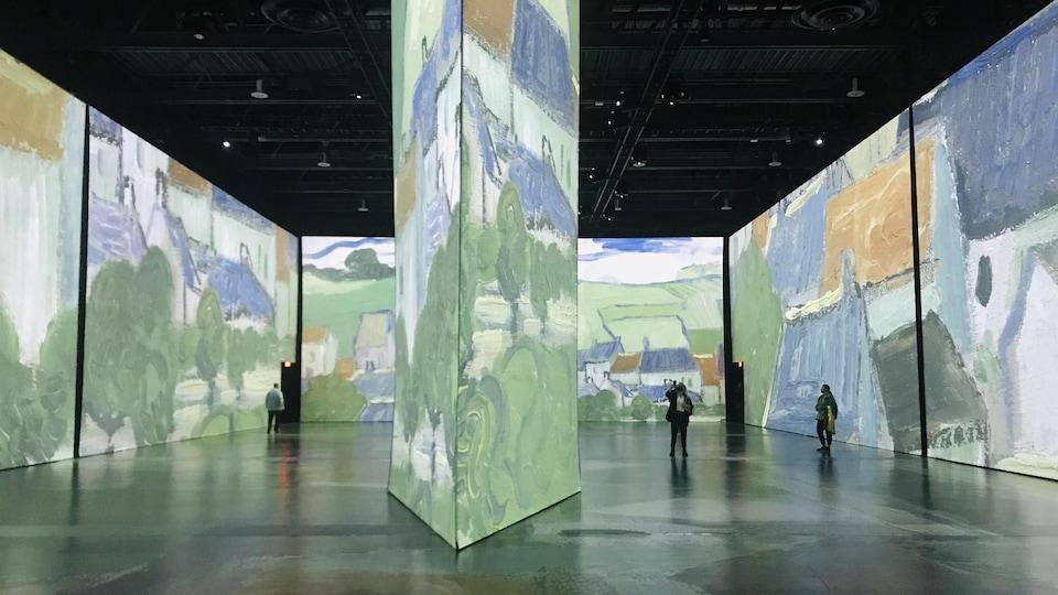 L'exposition « Imagine Van Gogh ».