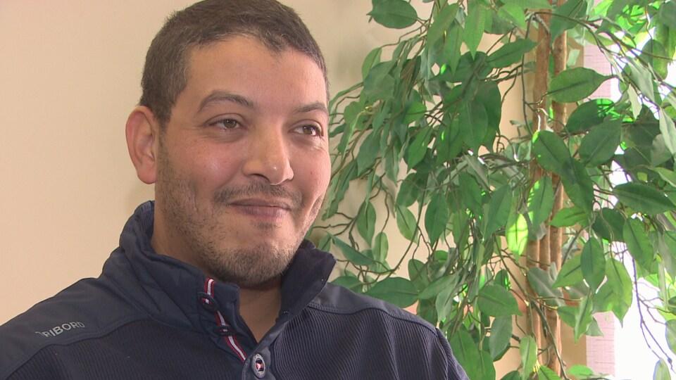 Portrait d'Abdellah Madani.