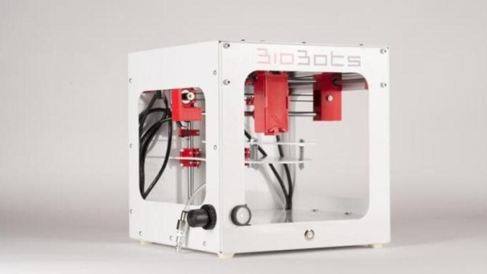 Chambre d'humidification utilisée pour développer les modèles de tumeur en 3D
