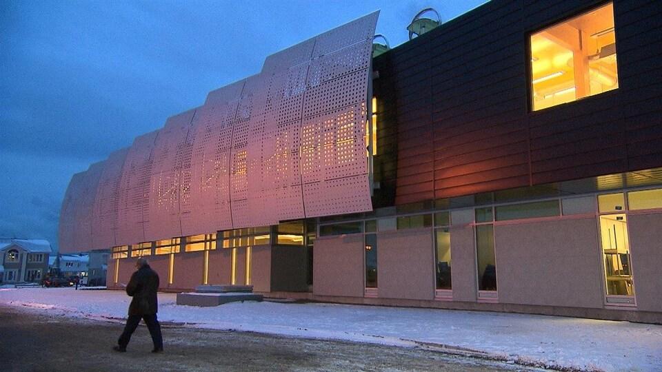 Le pavillon universitaire Alouette au Cégep de Sept-Îles
