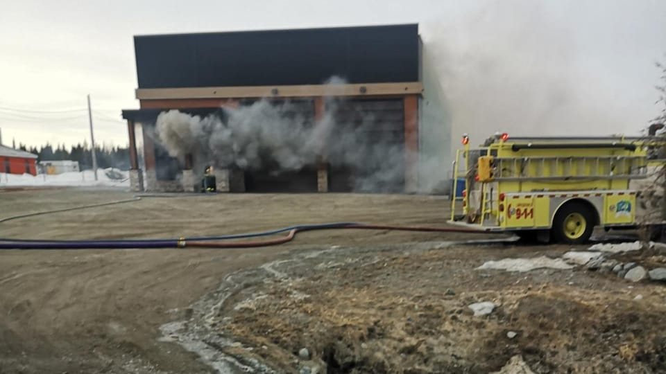 incendie d'un bâtiment