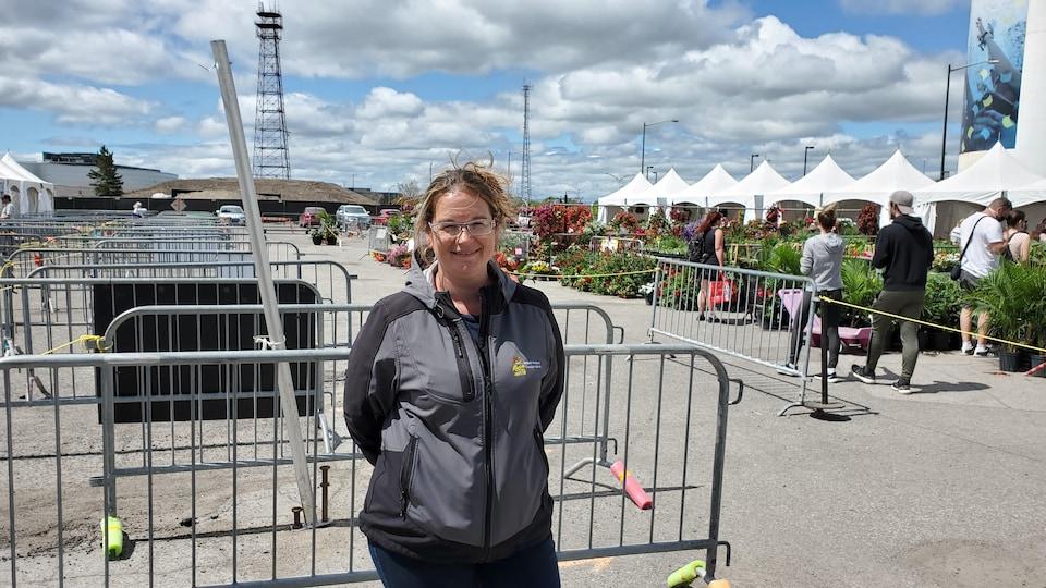 Isabelle Brodeur, directrice du Marché public de Sainte-Foy.
