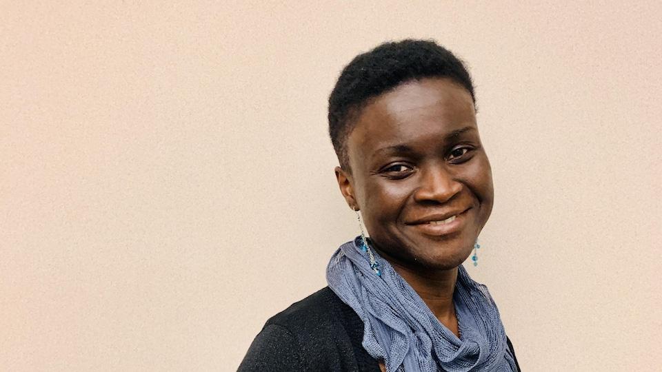 Isabelle Dasylva Gill, directrice de la Société acadienne et francophone de l'Île-du-Prince-Édouard.