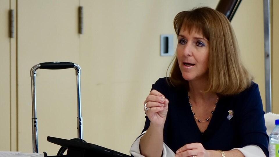 Isabelle Malo, directrice générale du CISSS Bas-Saint-Laurent