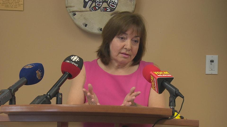 La défenseure des enfants et de la jeunesse de Terre-Neuve-et-Labrador, Jacqueline Lake Kavanaugh
