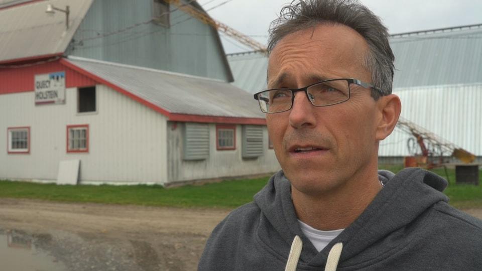 Jacques Roy est producteur laitier.
