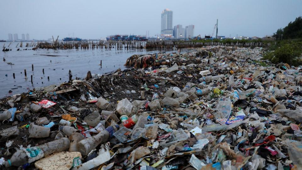 Le plastique est un fléau pour l'environnement.