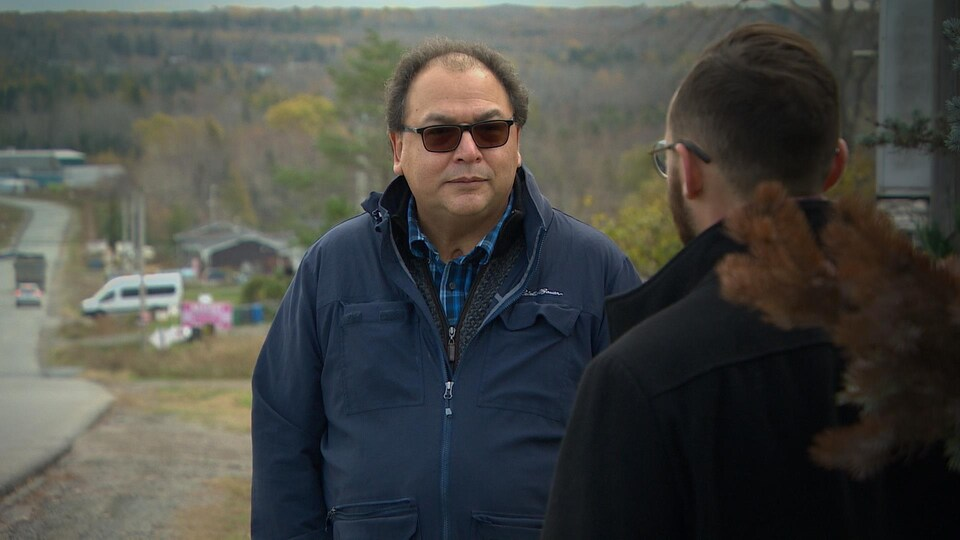 James Michael est un avocat pour la réserve de Sipekne'katik.