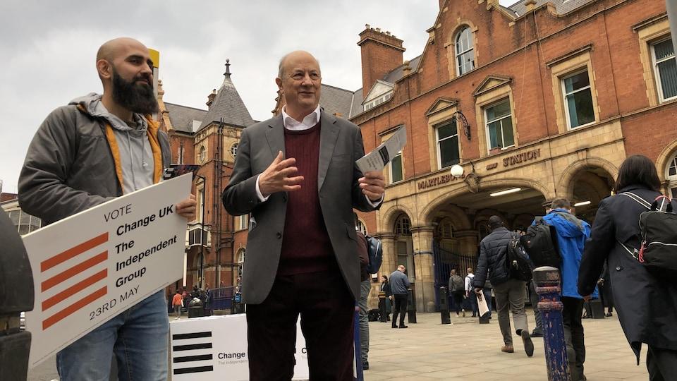 Jan-Vincent Rostowski, candidat de Change UK