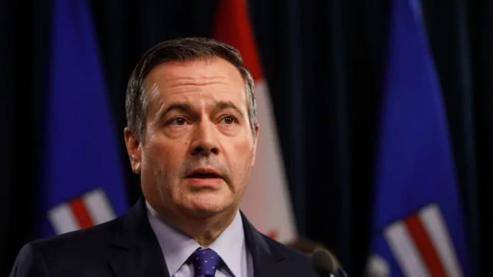 Le premier ministre de l'Alberta, Jason Kenney.