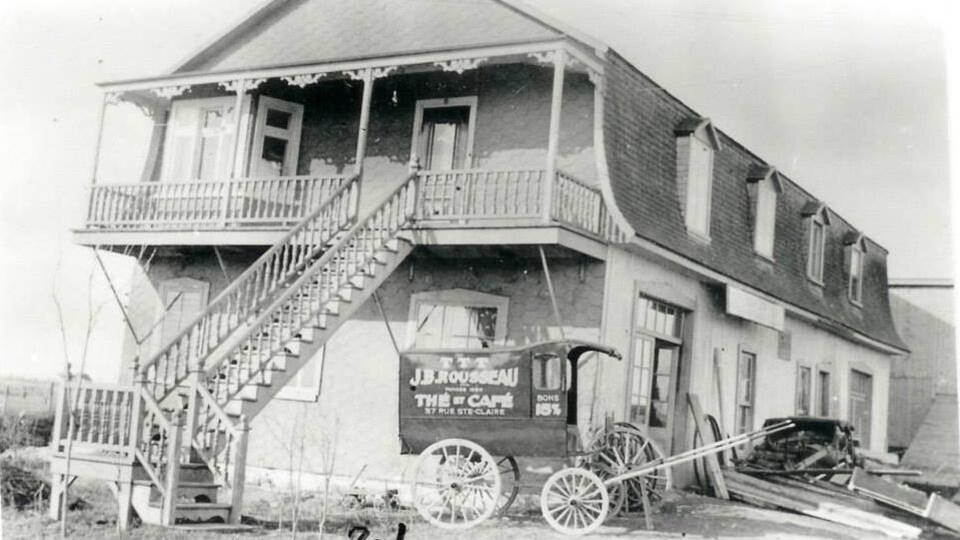 Établie en 1867, la Brûlerie Rousseau a longtemps occupé la seule place sur la scène du café à Québec. Photo non datée