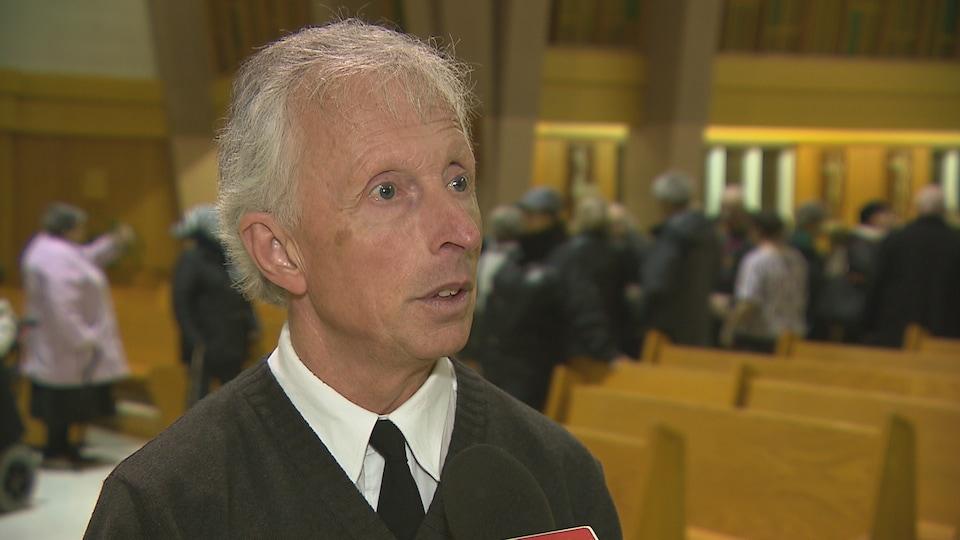 Jean-Charles Lechasseur est le nouveau marguillier de Saint-Robert-de-Rimouski. Il fait également partie du comité Cathédrale 2016.