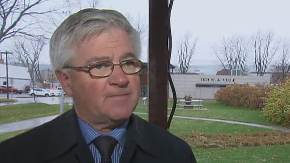 Le maire sortant de Baie-Saint-Paul, Jean Fortin