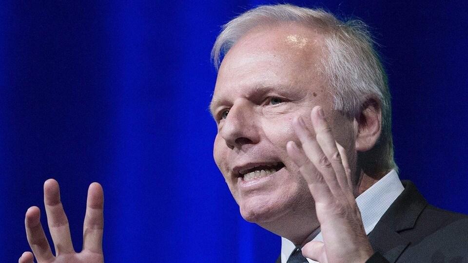 Le chef du Parti québécois Jean-François Lisée