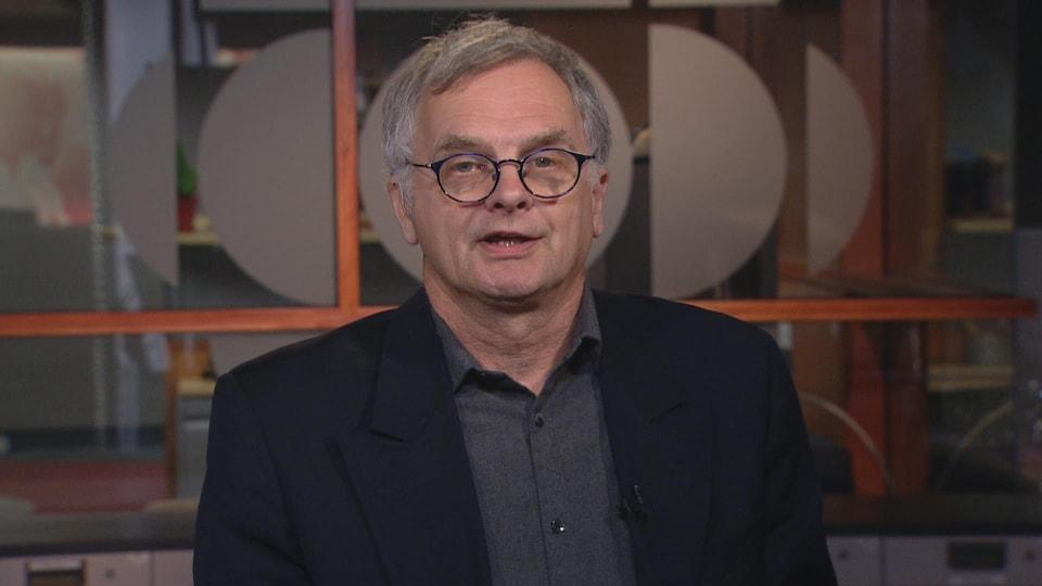 Jean Joly, président du Conseil des vins d'appellation du Québec et propriétaire du Vignoble du marathonien.