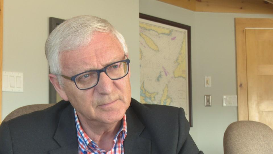 Jean Lanteigne, directeur général de la Fédération régionale acadienne des pêcheurs professionnels