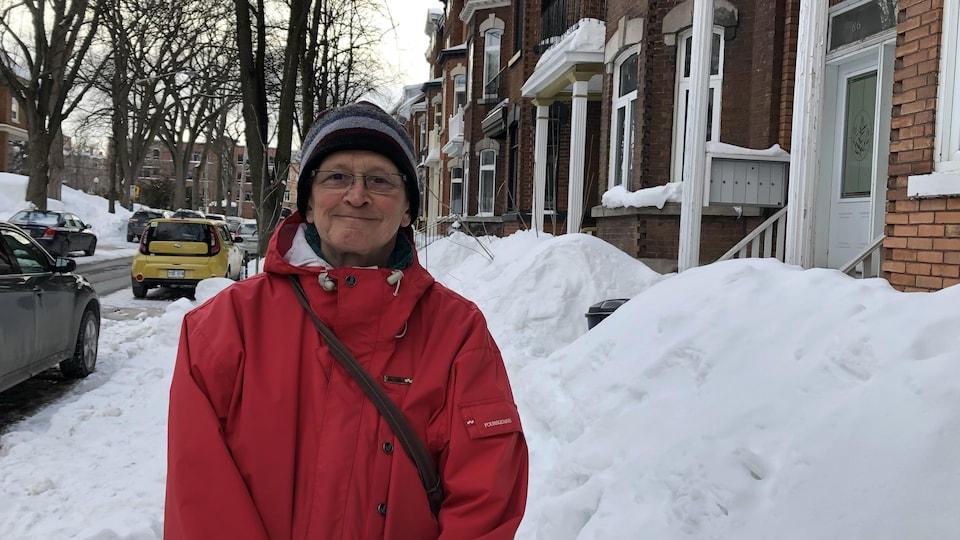 Jean Mathieu vit à Québec depuis toujours.