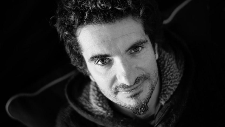 Jean-Noël Godard, percussionniste du groupe Sakhius.