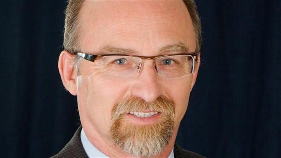 Jean-Pierre Pigeon, candidat conservateur.