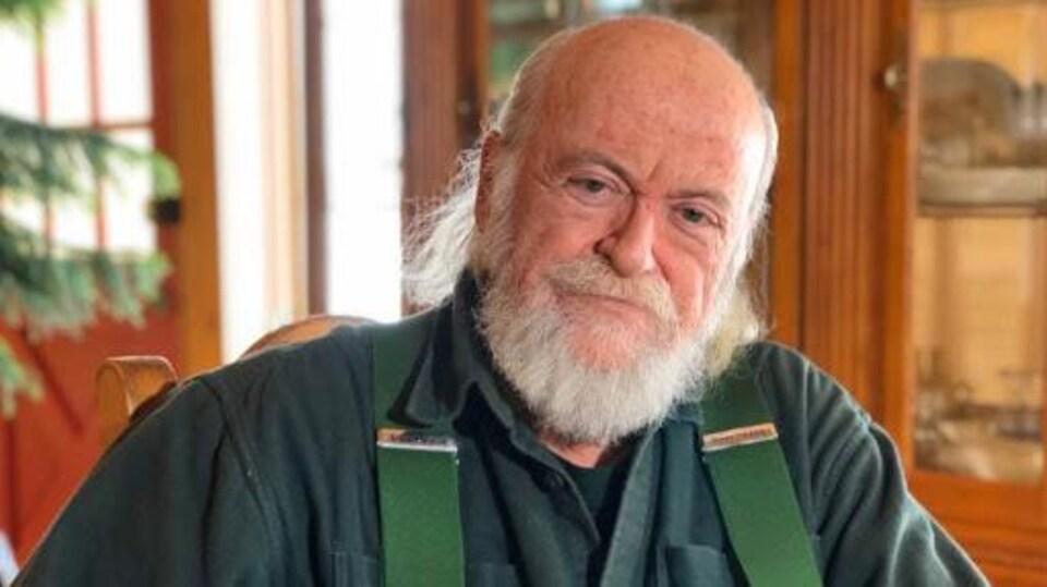 Jean Poirier en entrevue à Radio-Canada.