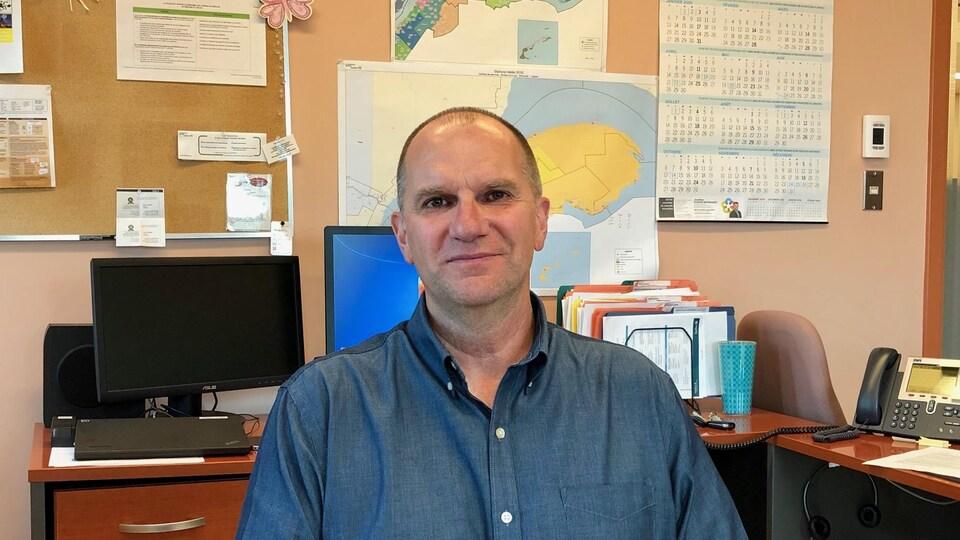 Jean Ruest, directeur régional de la Financière agricole à Rimouski